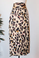Leopard Pattern Skirt