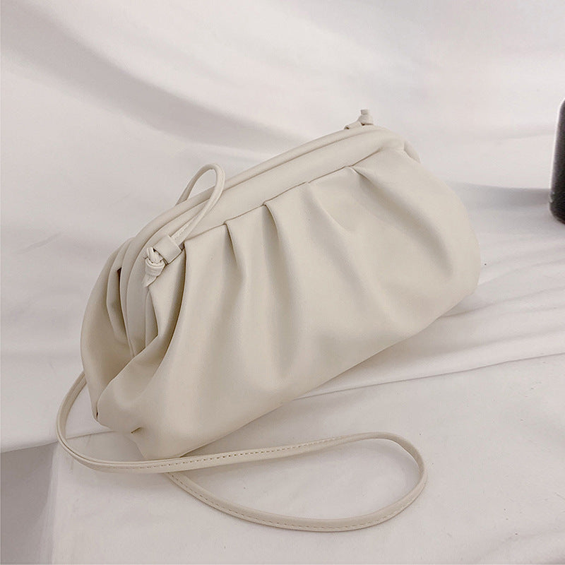 White Crossbody Pouch