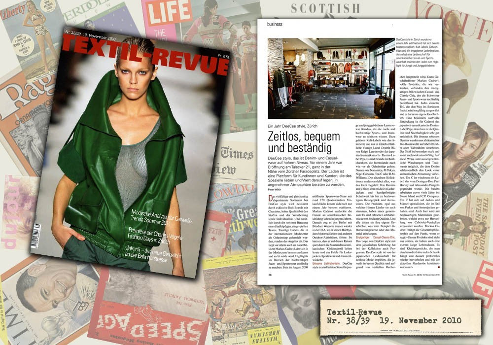 Textil-Revue November 2011 DeeCee style