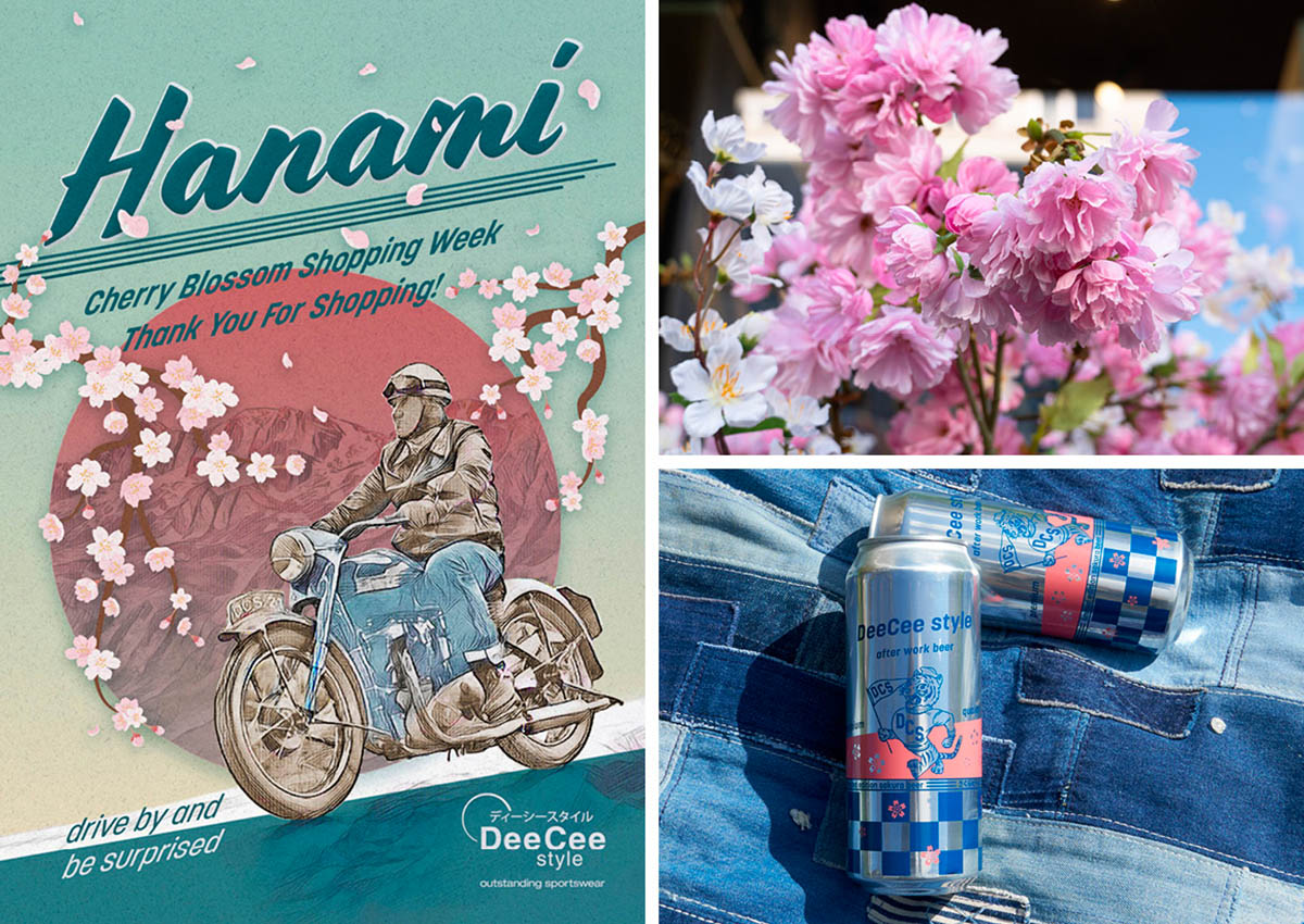 Hanami Cherry Blossom Shopping Week 2021 at DeeCee style Zurich