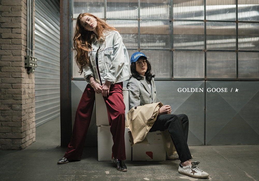 Golden Goose Sneakers and Clothing