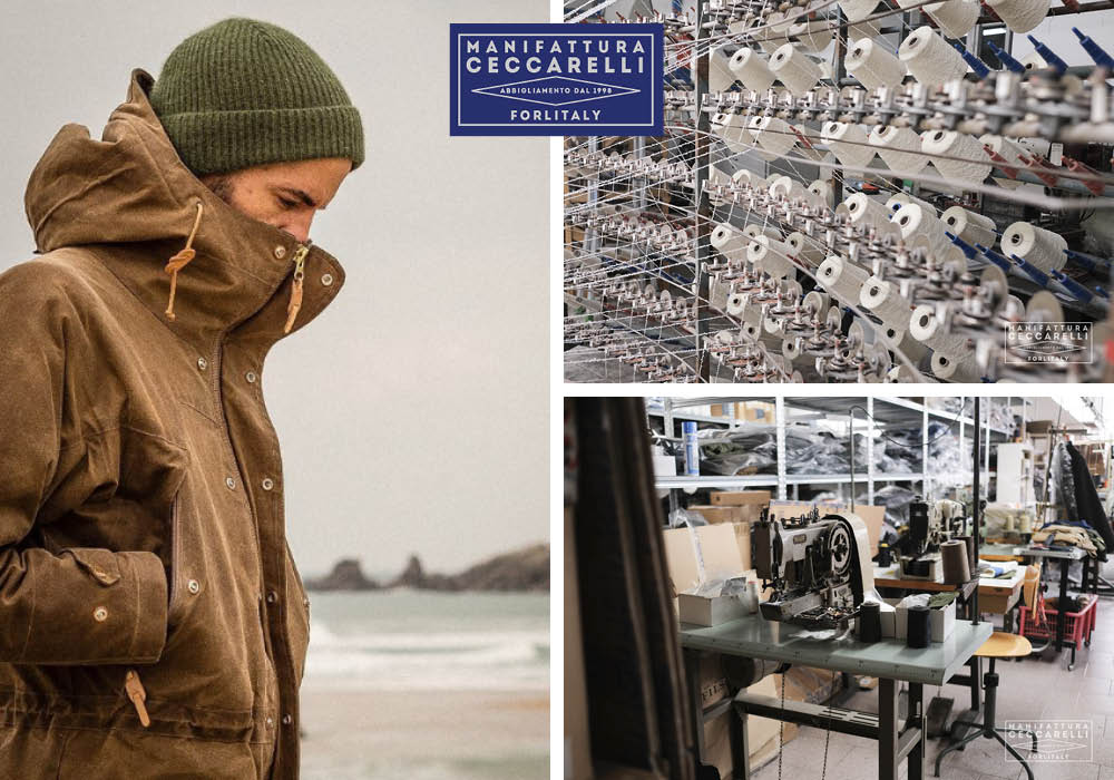 Manifattura Ceccarelli, Sustainable Jackets, Made in Italy