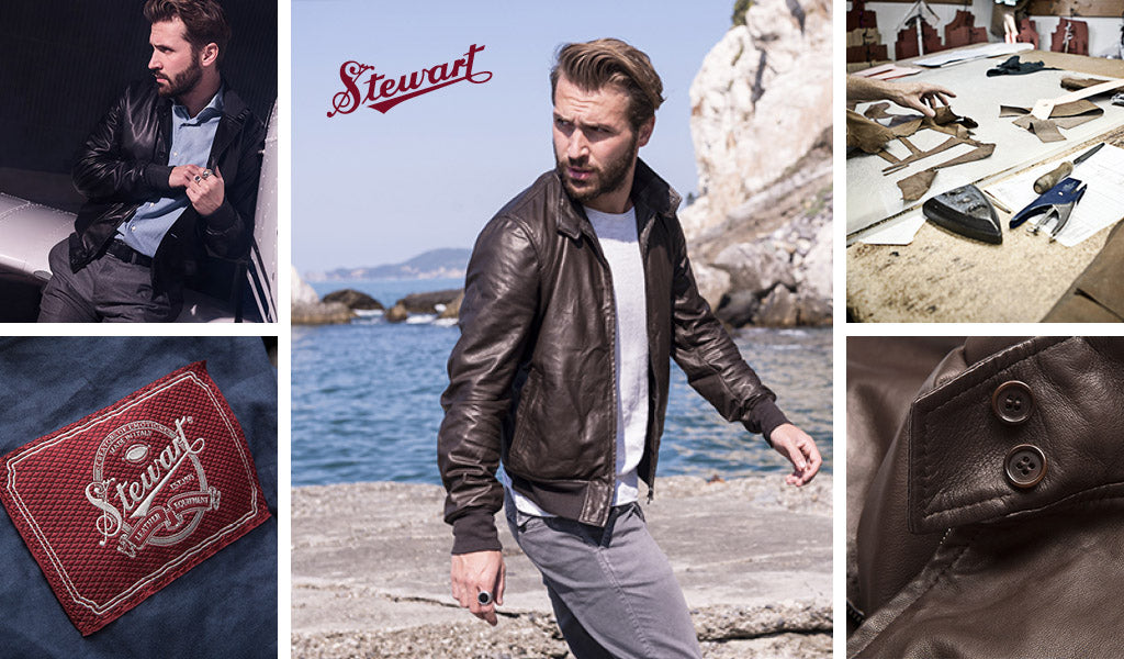 Stewart Made in Italy Leather Jackets