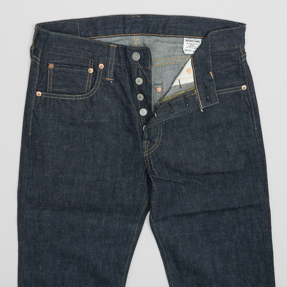 Sugar Cane Standart Straight Selvage Denim Jeans
