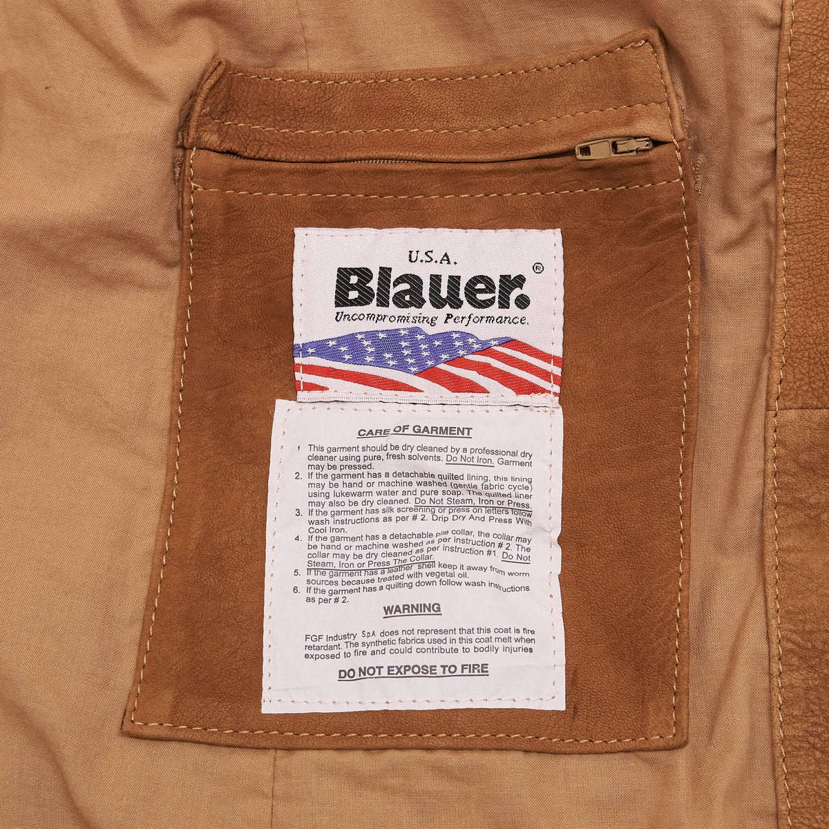 Blauer Leather Blazer