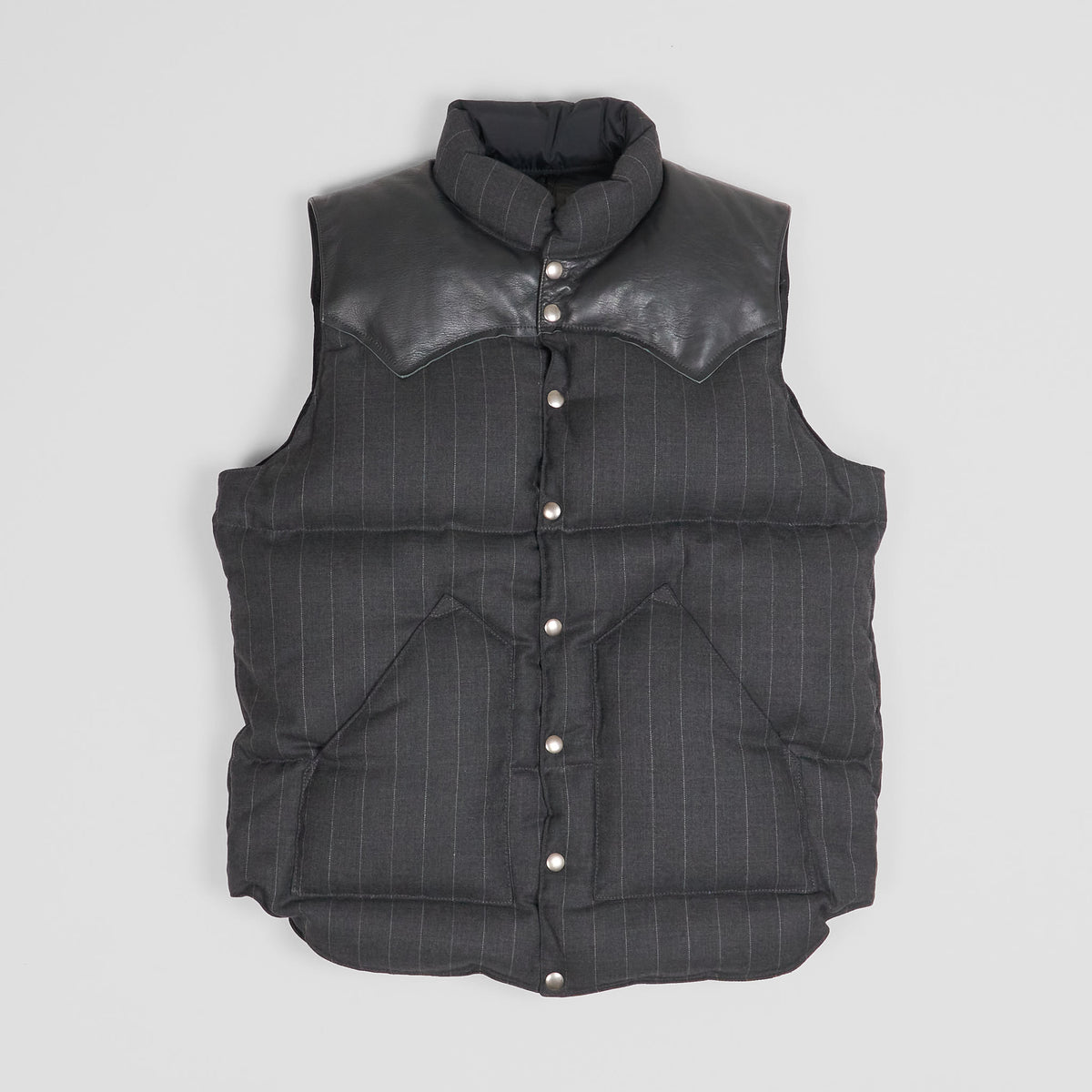 Rocky Mountain Featherbed Pinstripe Down Vest
