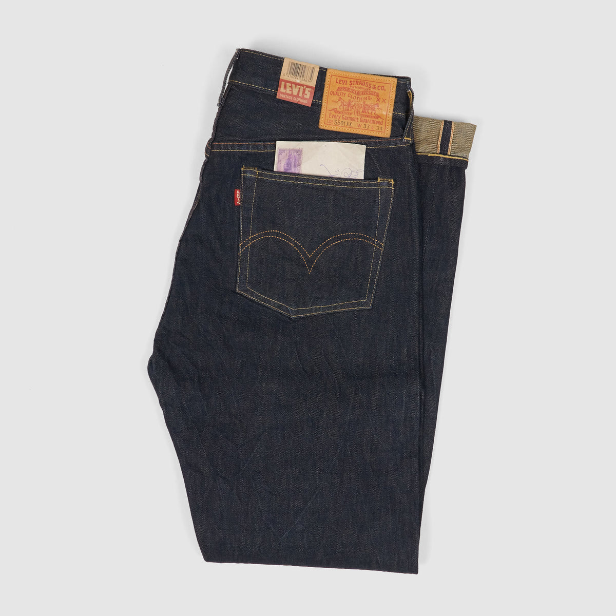 Levi's Vintage Clothing 501 1944 Rinsed Denim Jeans