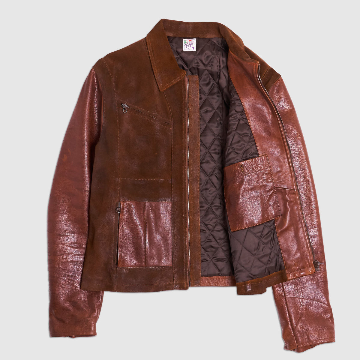 Prps Leather Jacket Double Leather