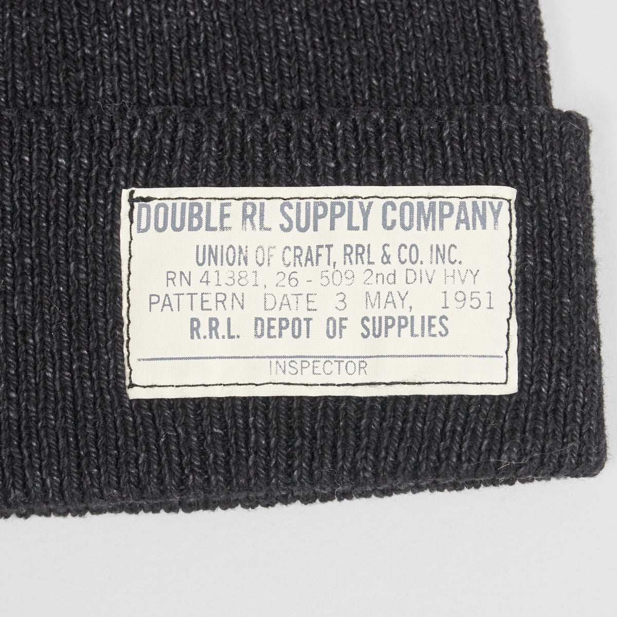 Double RL Watch Cap