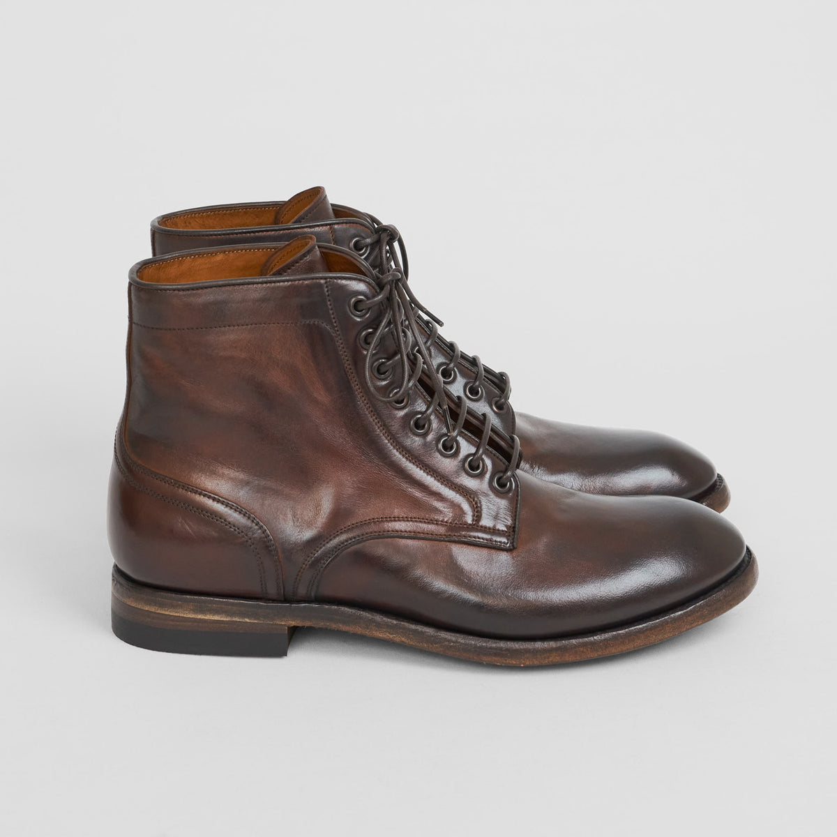 Sassetti Cordovan Ankle Dress Boot