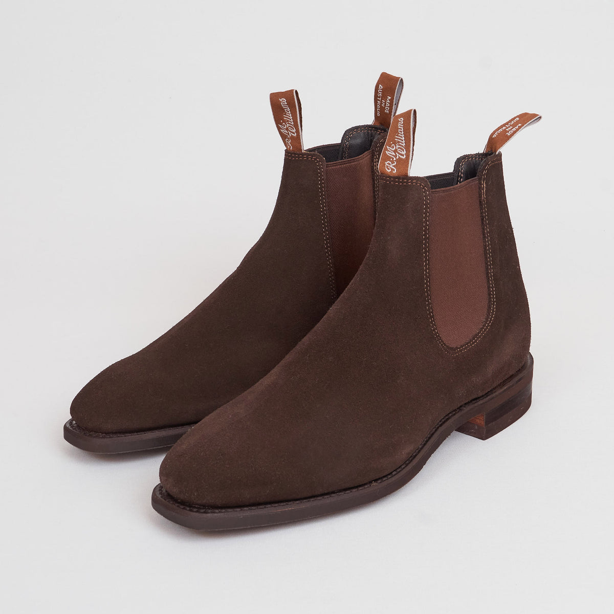 R.M. Williams Comfort Craftsman Suede