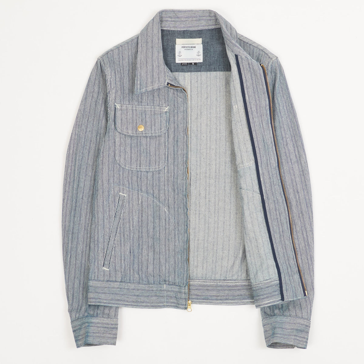Schott NYC Perfecto Brand Workjacket Indigo
