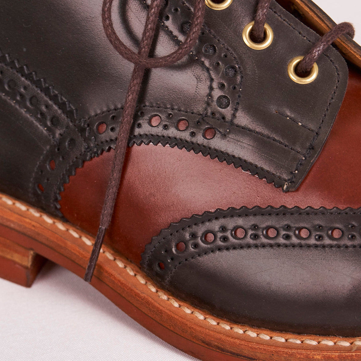 Trickers Jimmy Boots Two Tone Cordovan