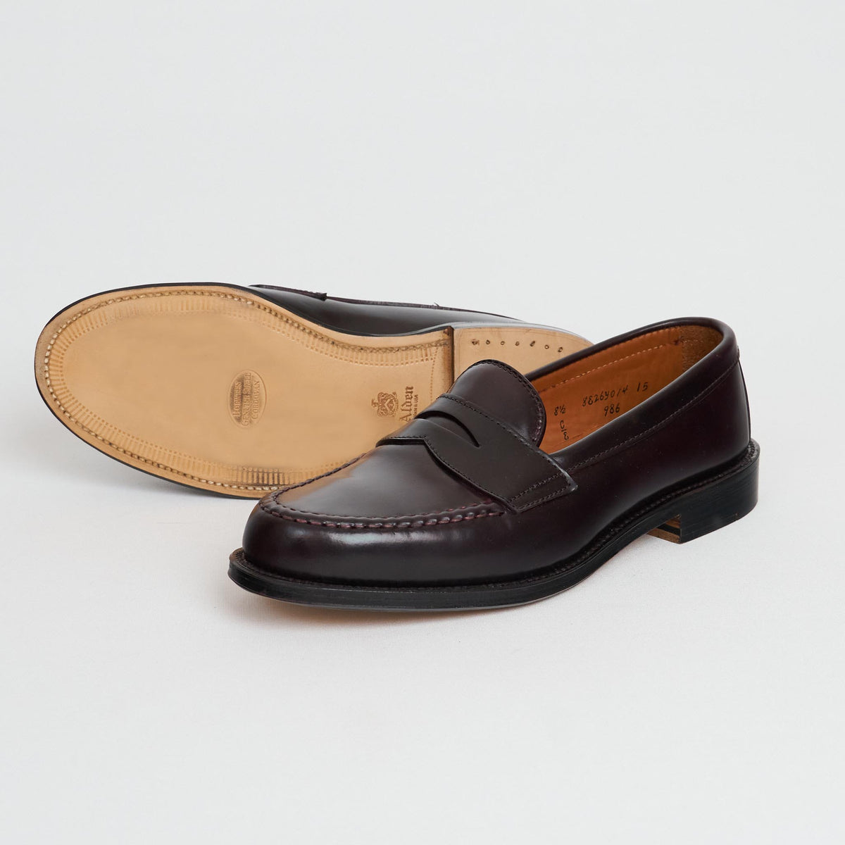 Alden Penny Loafer Shell Cordovan 986