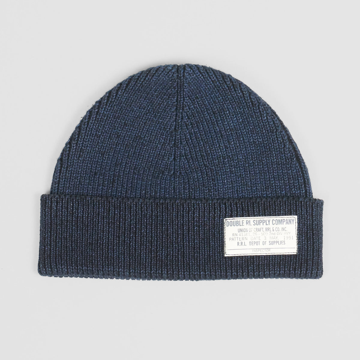 Double RL Indigo-Dyed Watch Cap