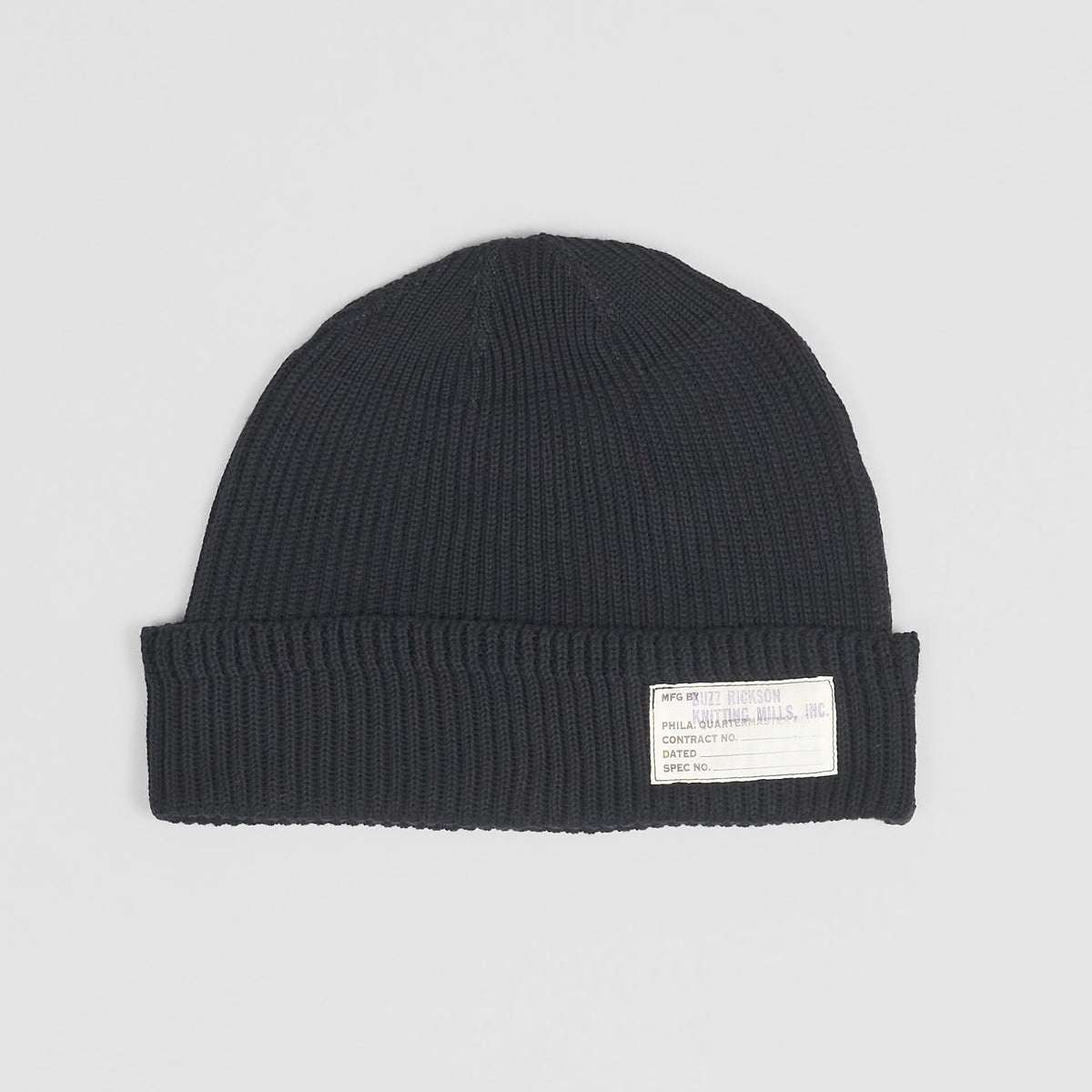 Buzz Rickson's Navy Knit Watch Cap
