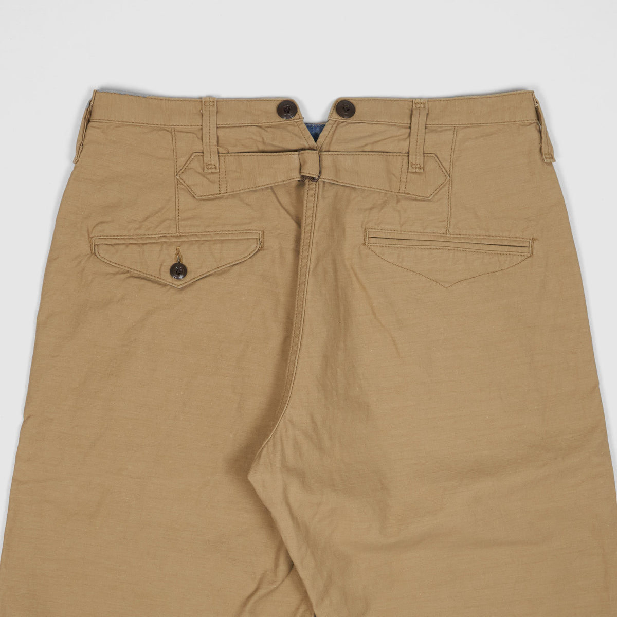 Jelado Washed Buckle Back Chinos