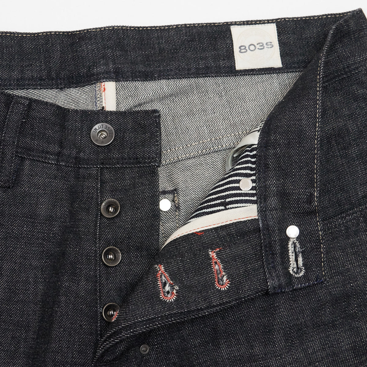 IMjiT x DeeCee style Regular Tapered Selvage Denim Jeans