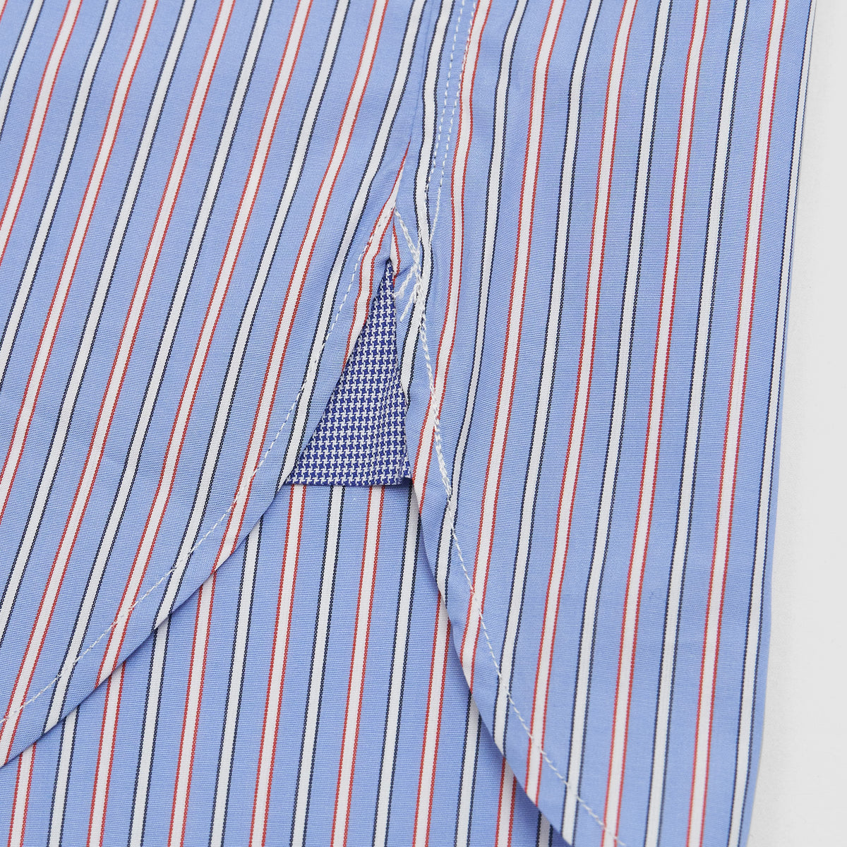 Junya Watanabe Man Classic Casual Shirt Striped