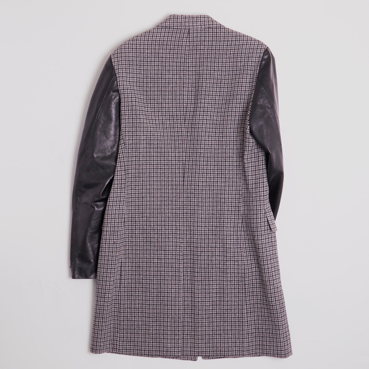 Junya Watanabe Man Wool Coat With Cordovan Sleeves