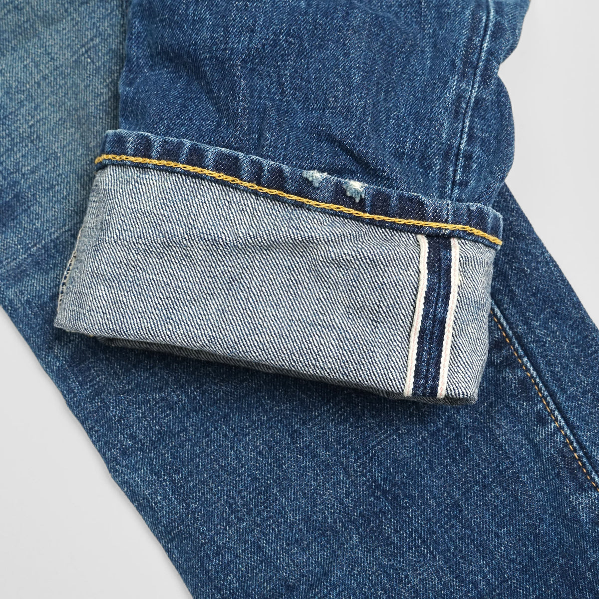 Double RL Selvage Denim Jeans  Slim Narrow