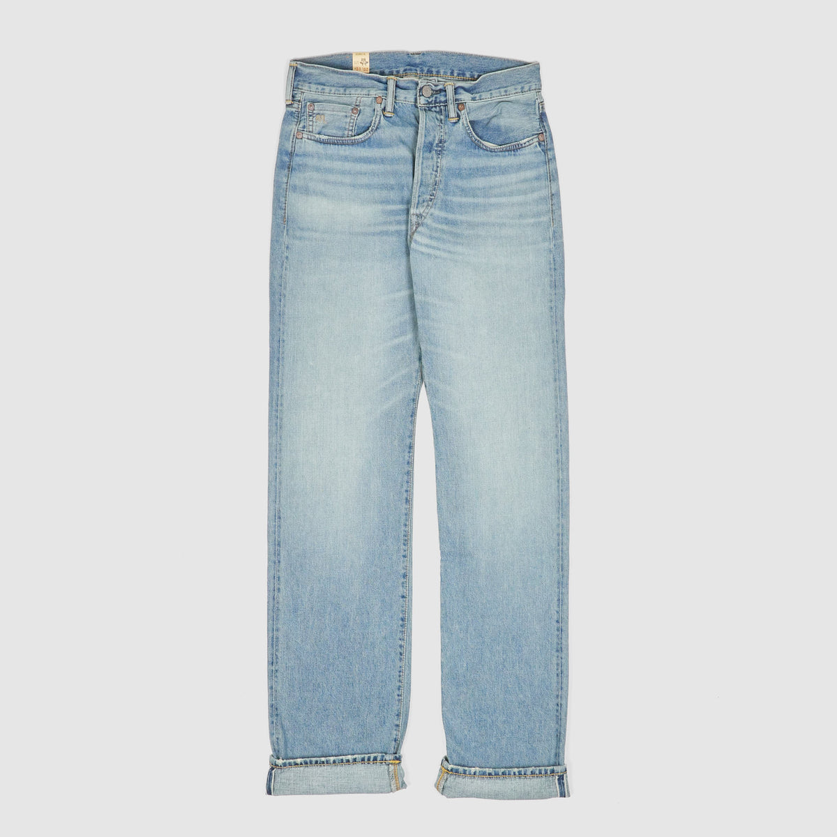 Double RL Straight Leg Selvage Jeans