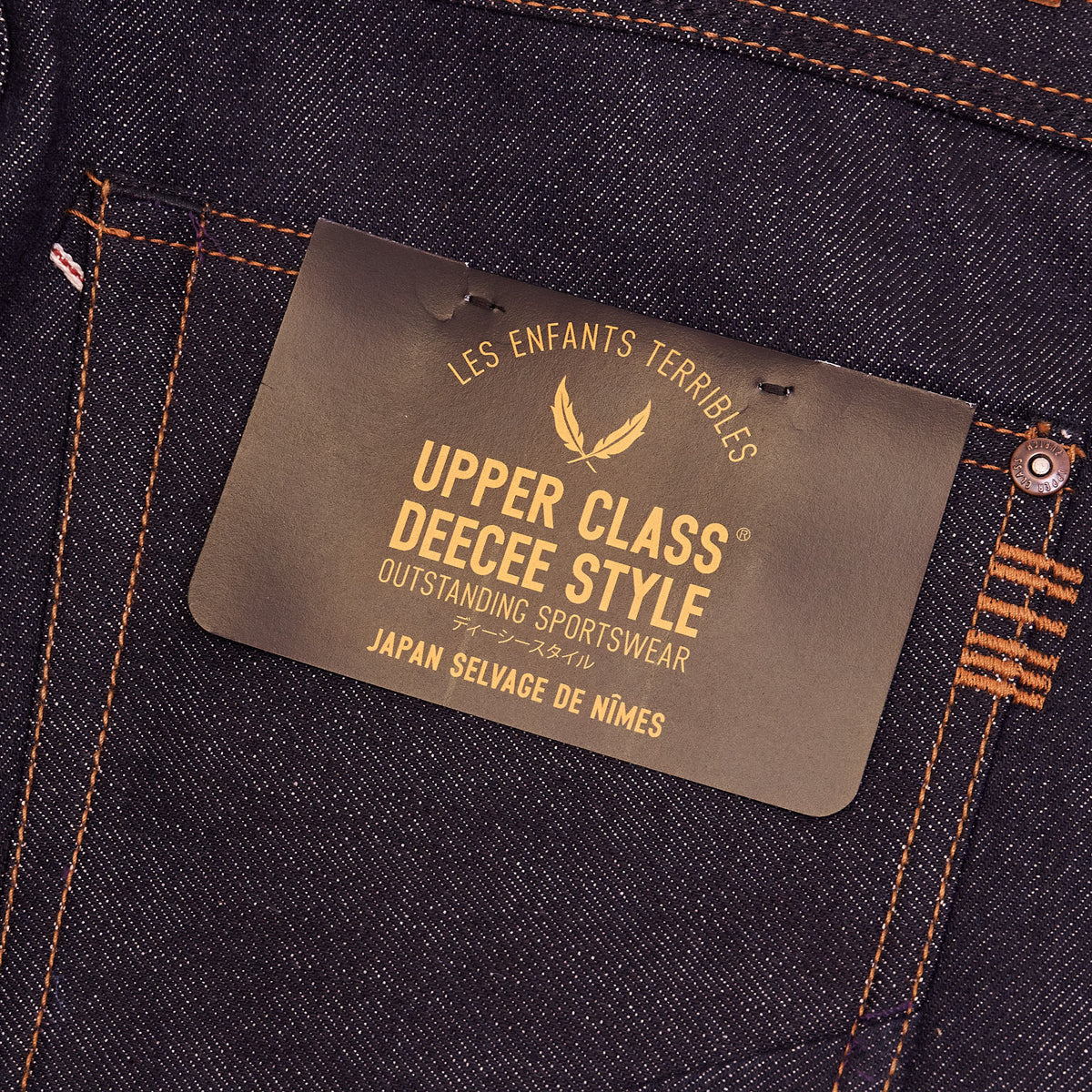 Upper Class x DeeCee style Limited-Edition Slim Selvage Denim Jeans