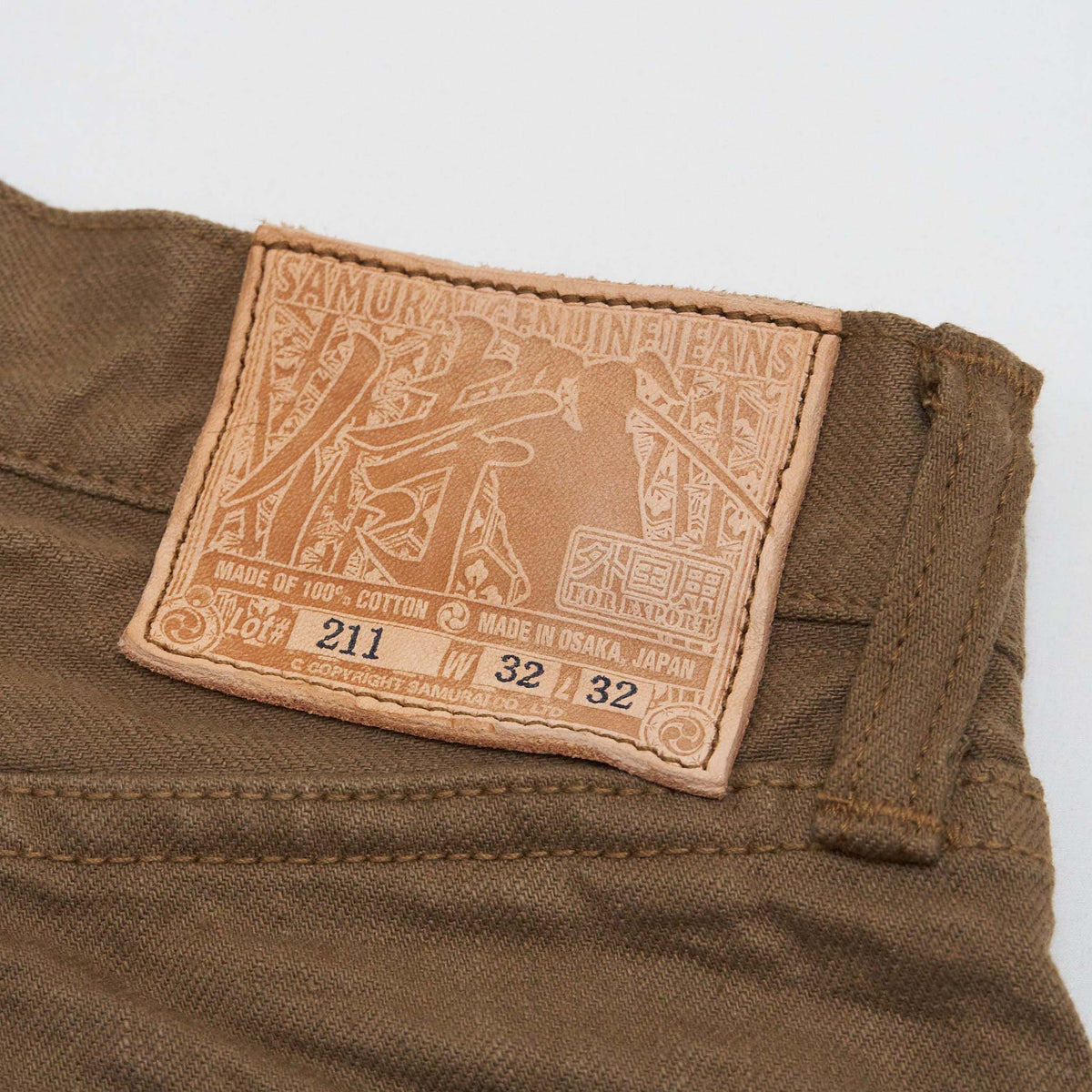 Samurai Jeans Sulfide Dyed Heavy 5-Pocket Jeans