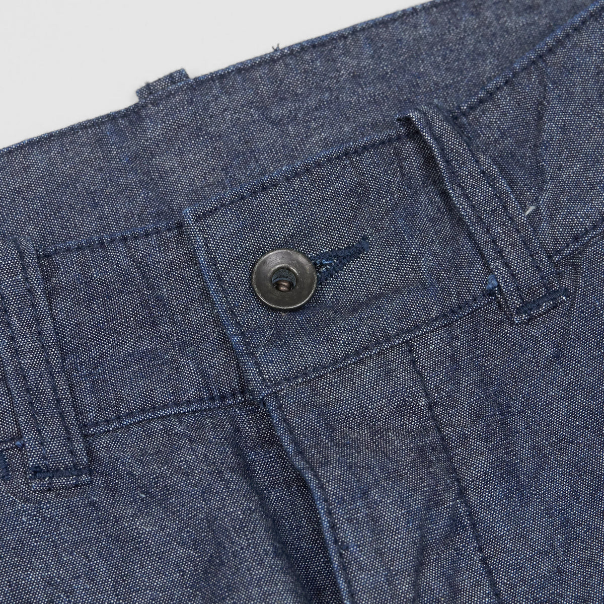 Black Sign 15 Oz. Denim and 10 Oz. Chambray Wide Cut Pants