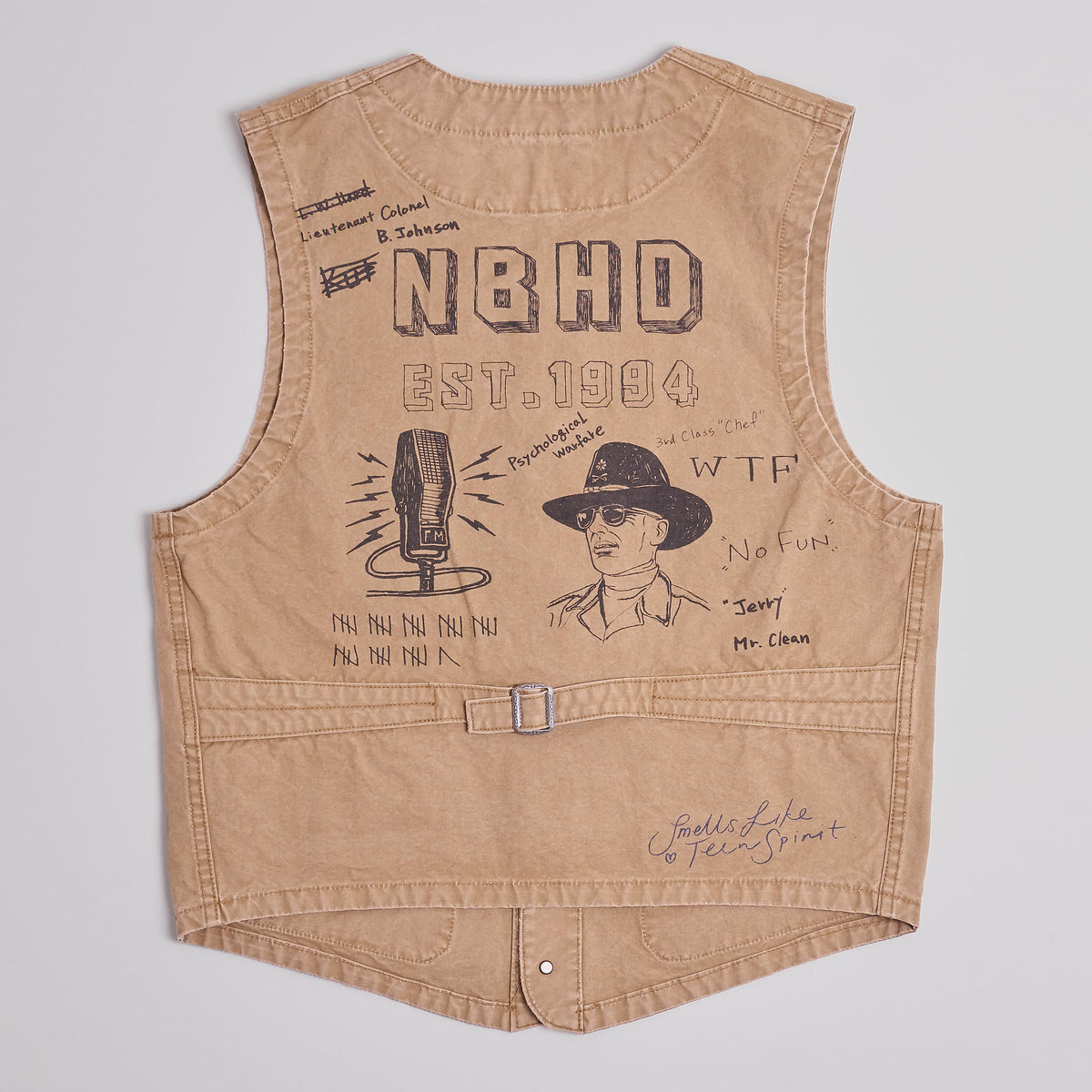 Neighborhood Memorial Hand-Paint Vest