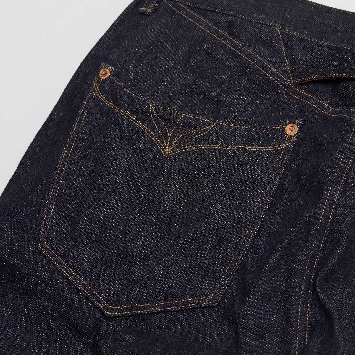 Stevenson Overall  CO. Chinch Back Western Denim Jeans