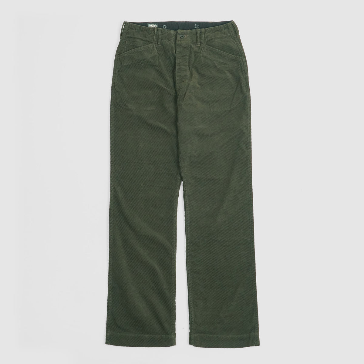 Black Sign Rasp Cord Miner Chino