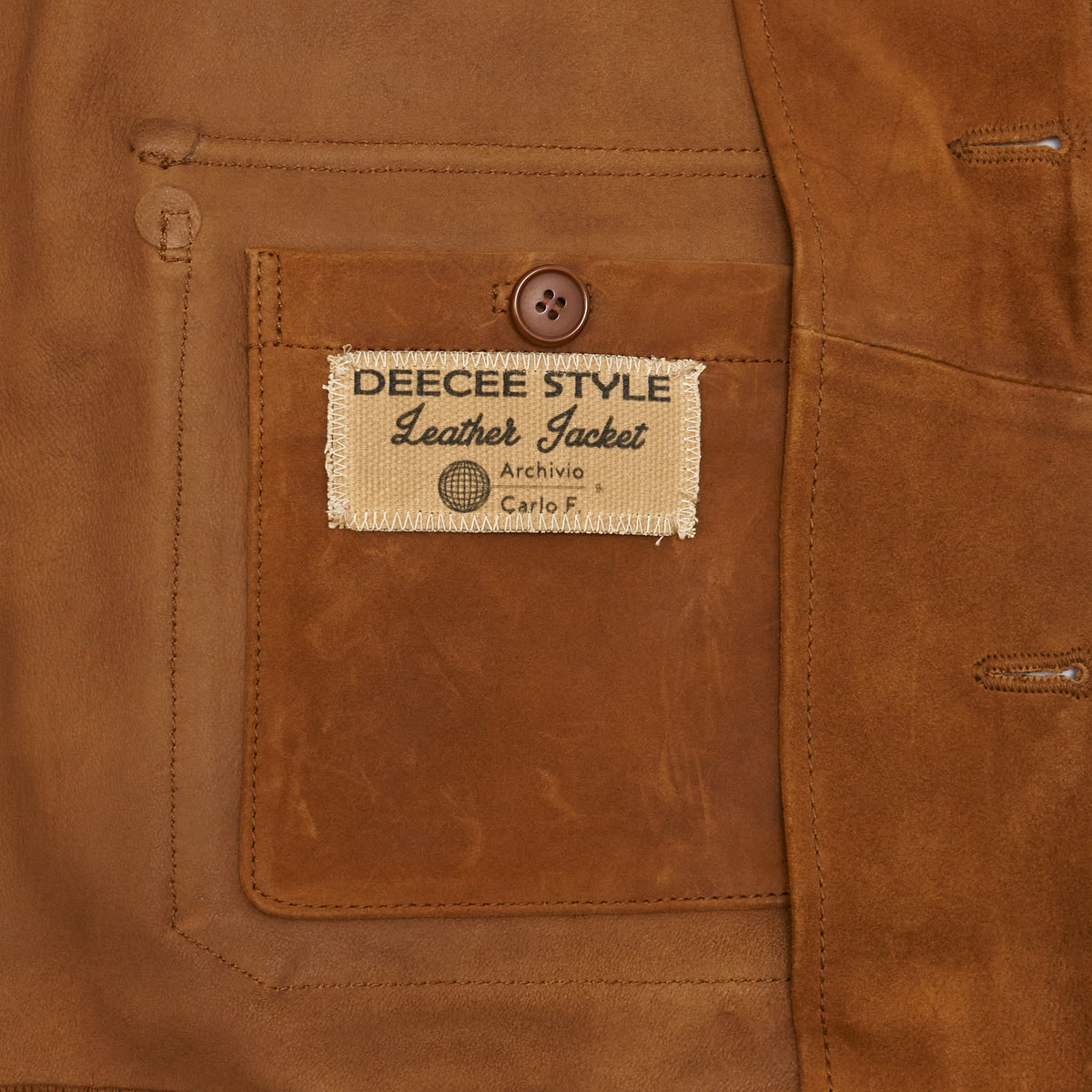 DeeCee style A1 Type Leather Jacket