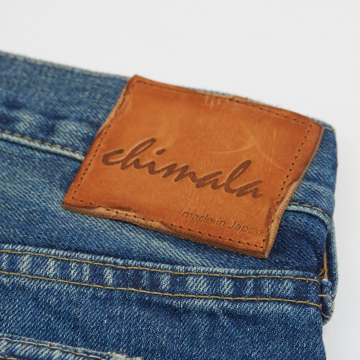 Chimala Straight Leg Unisex Japan Denim Jeans