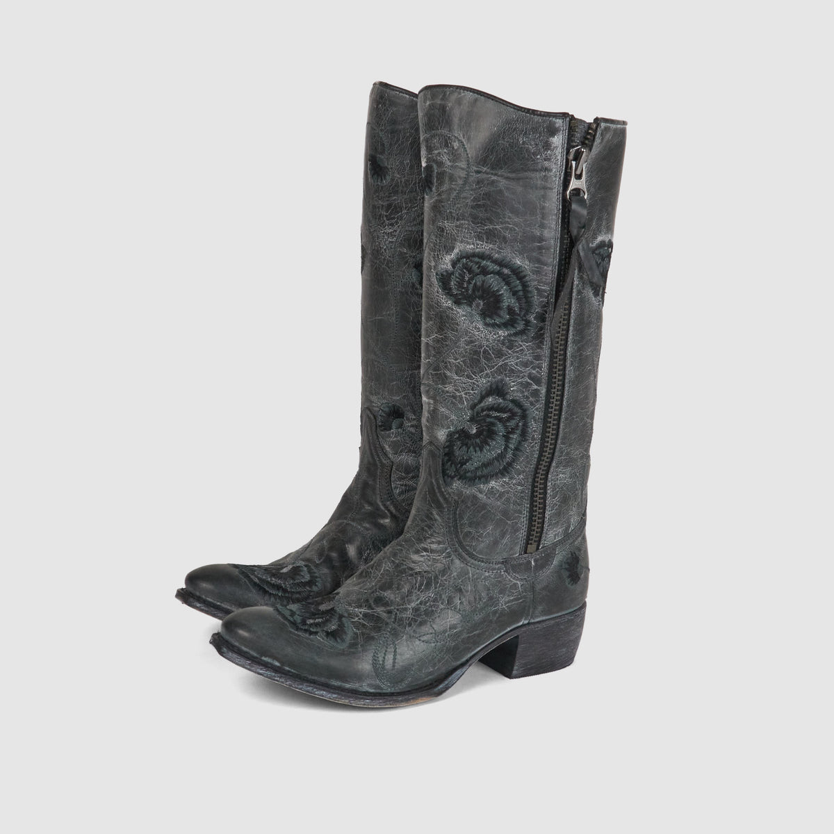 Sendra Ladies Flower Embroidered Cowboy Boot