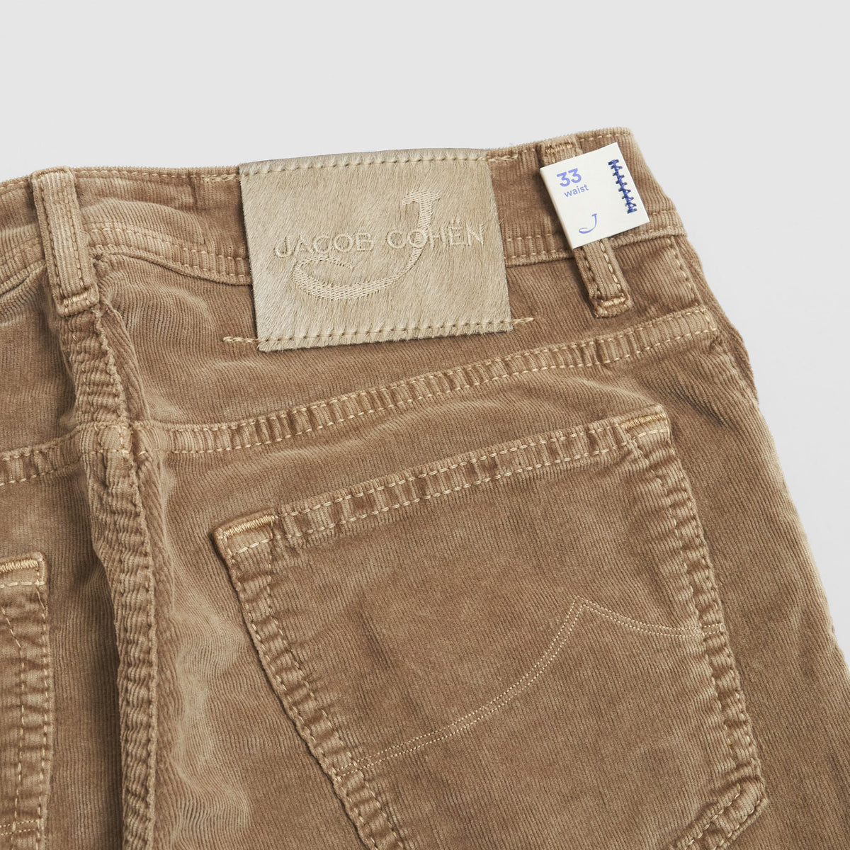 Jacob Cohen Luxury 5 Pocket Corduroy Pants