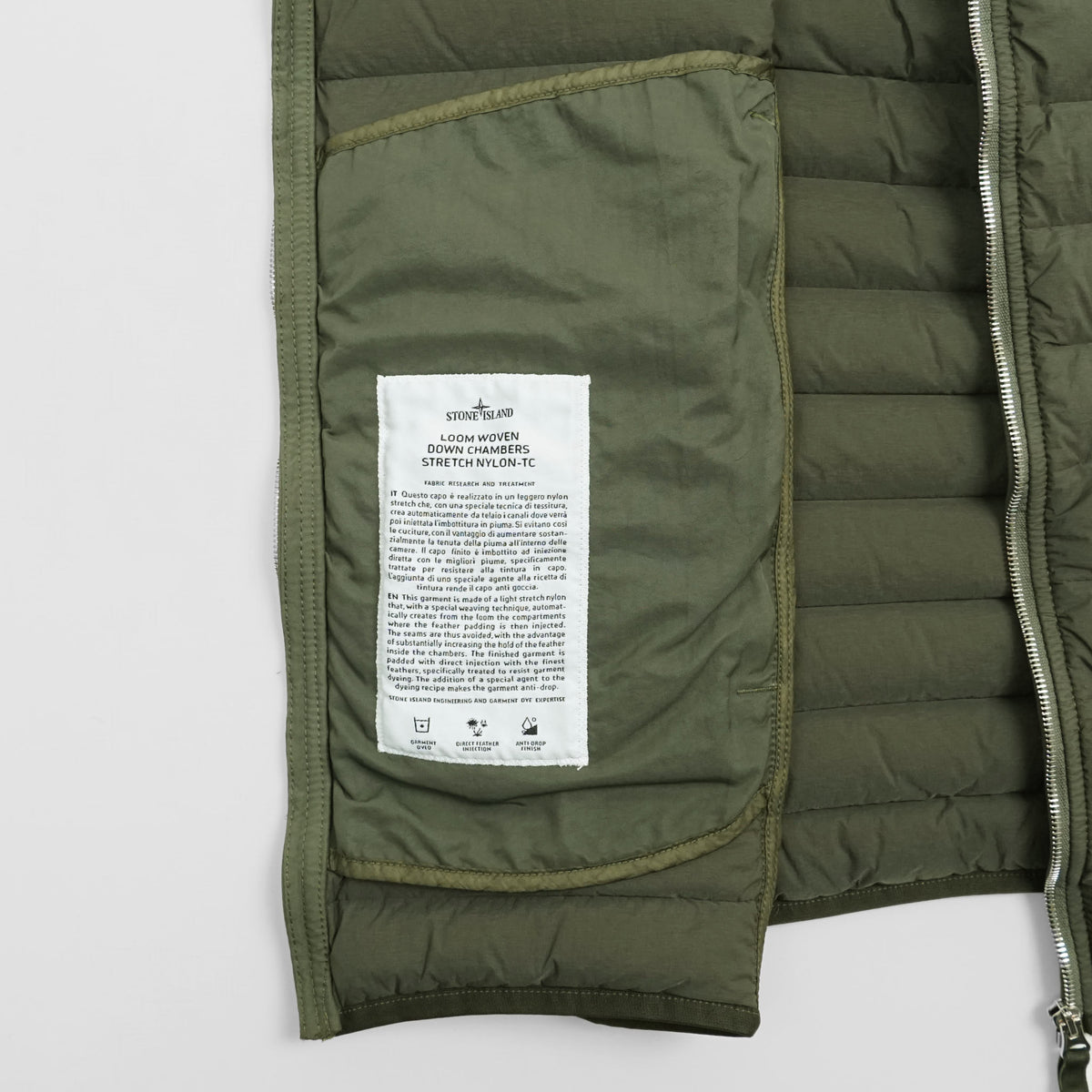 Stone Island Loom Woven Down Stretch Vest