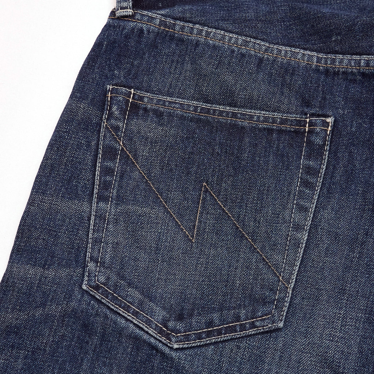 Neighborhood Relaxed Fit Selvage Denim Jeans (Washed)