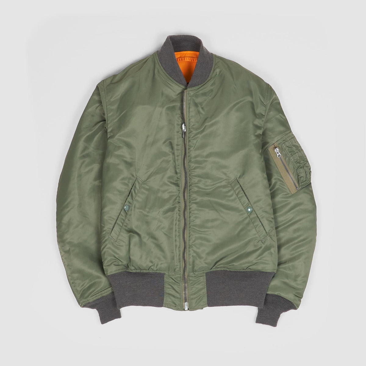 Buzz Rickson's MA-1 D-Type Reversible Flight Jacket