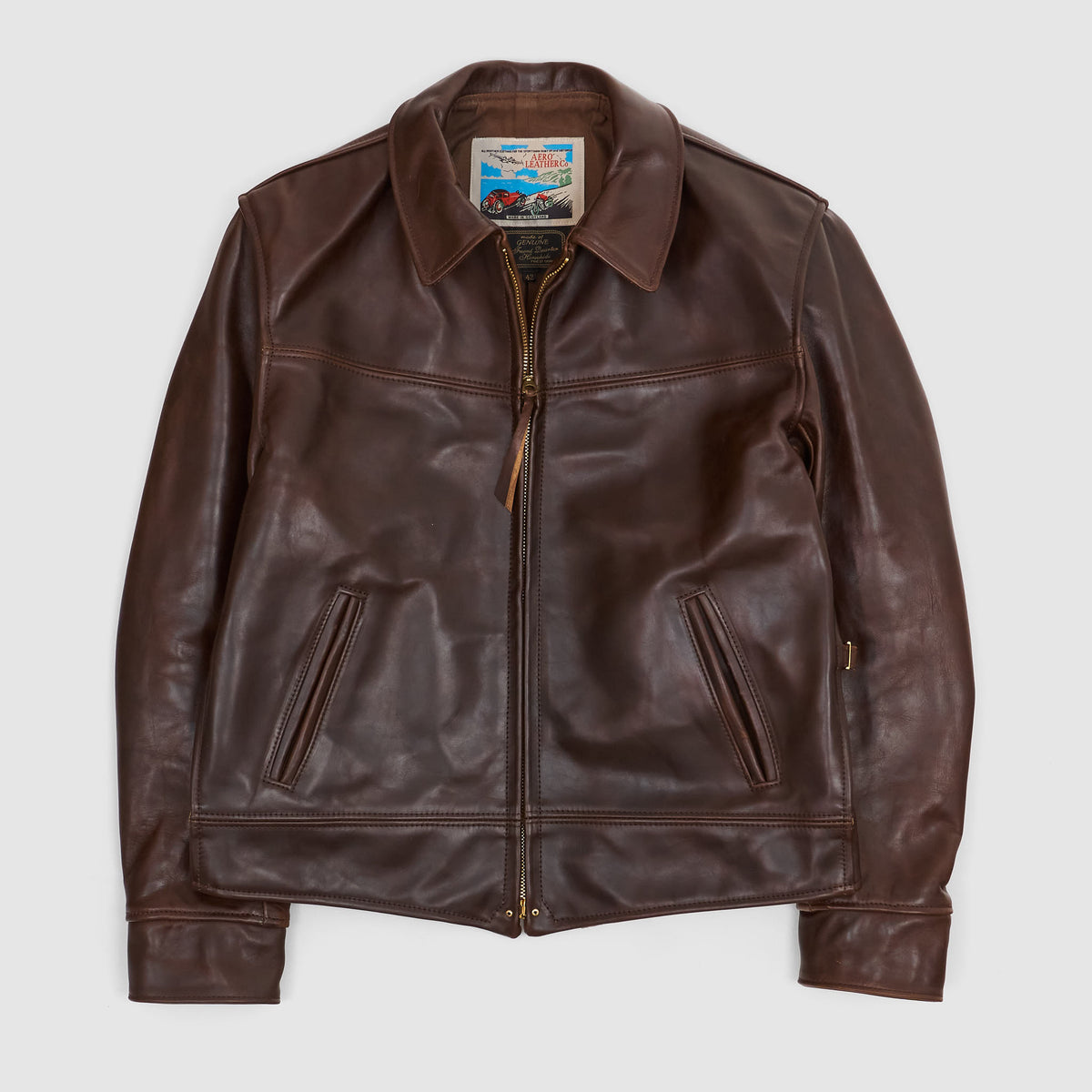 Aero Leathers Dust Bowl Leather Jacket