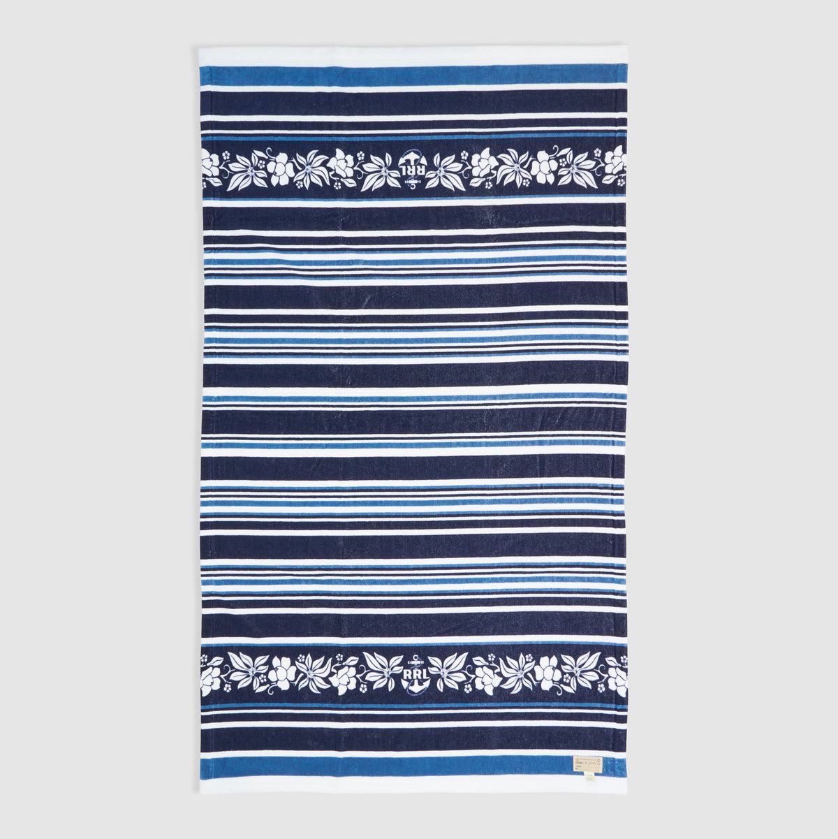 RRL Beach Towel Indigo Dyed