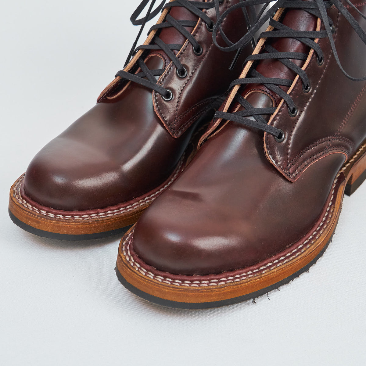 White's Boots Limited Horween Shell Cordovan Lace-up Boots