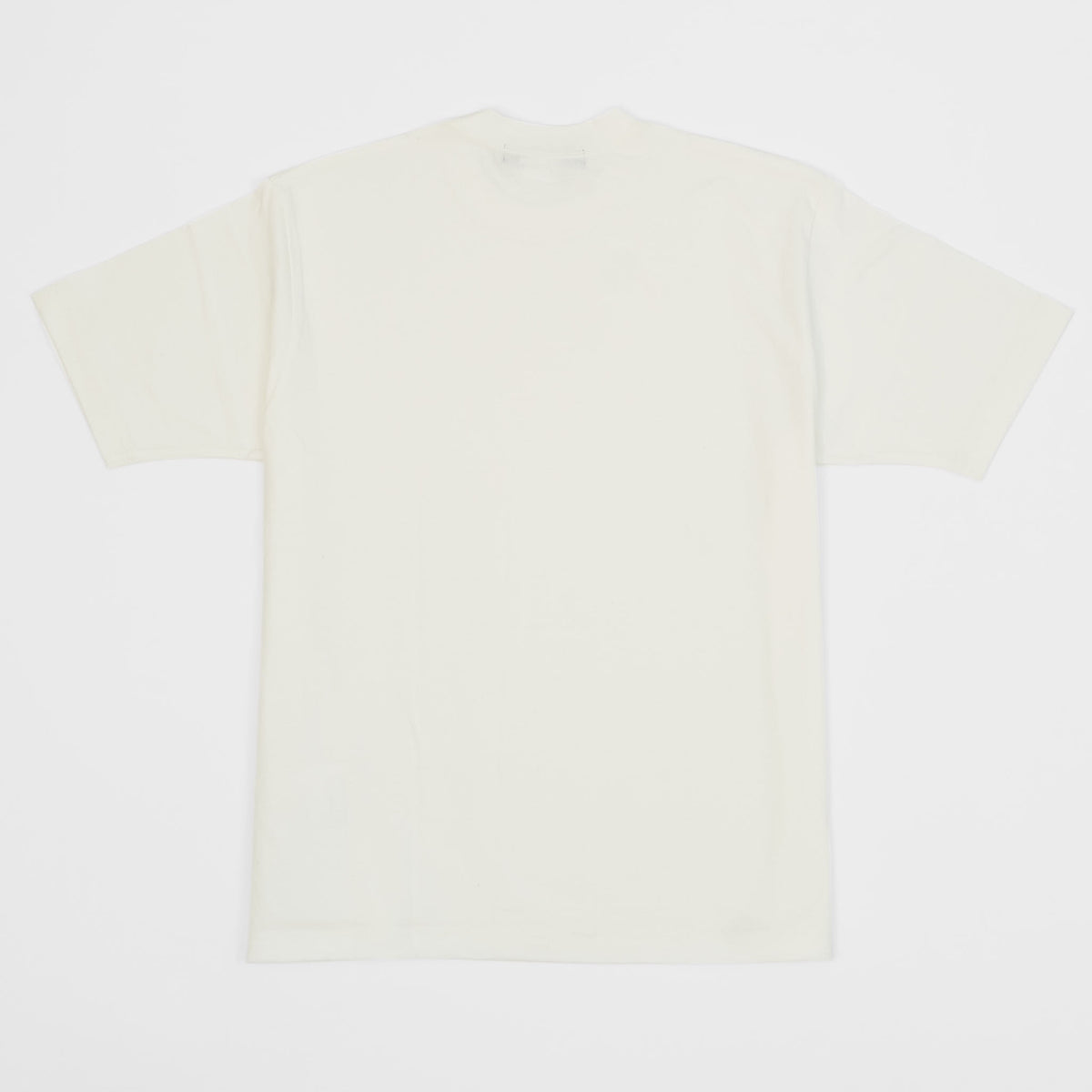 Junya Watanabe Man Crew Neck White Basic T-Shirt