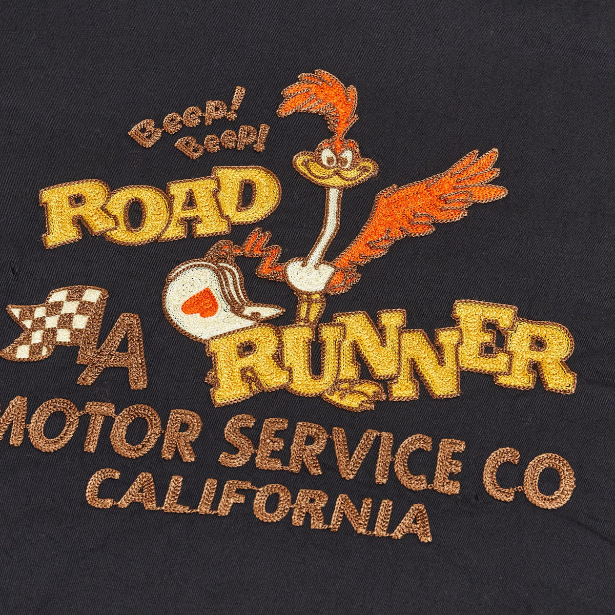 Sugar Cane MFG Road Runner Motor Service Garage Shirt