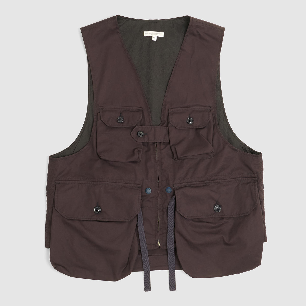 Engineered Garments Highcount Twill Vest Navy
