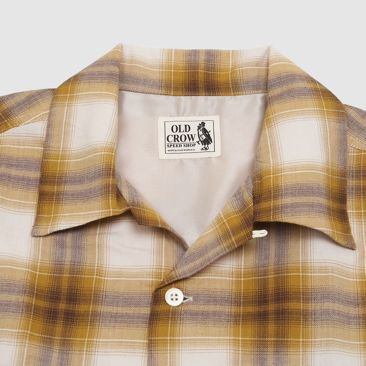 Old Crow Speed Shop by Glad Hand & Co. Work Shirt