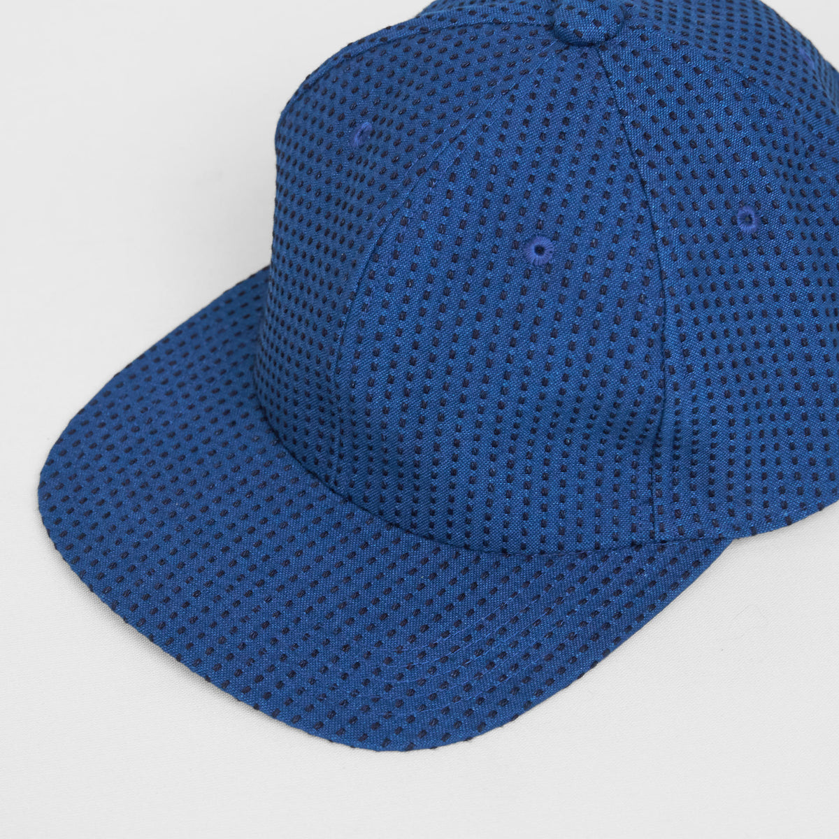 Blue Blue Japan Sashiko Baseball Hat