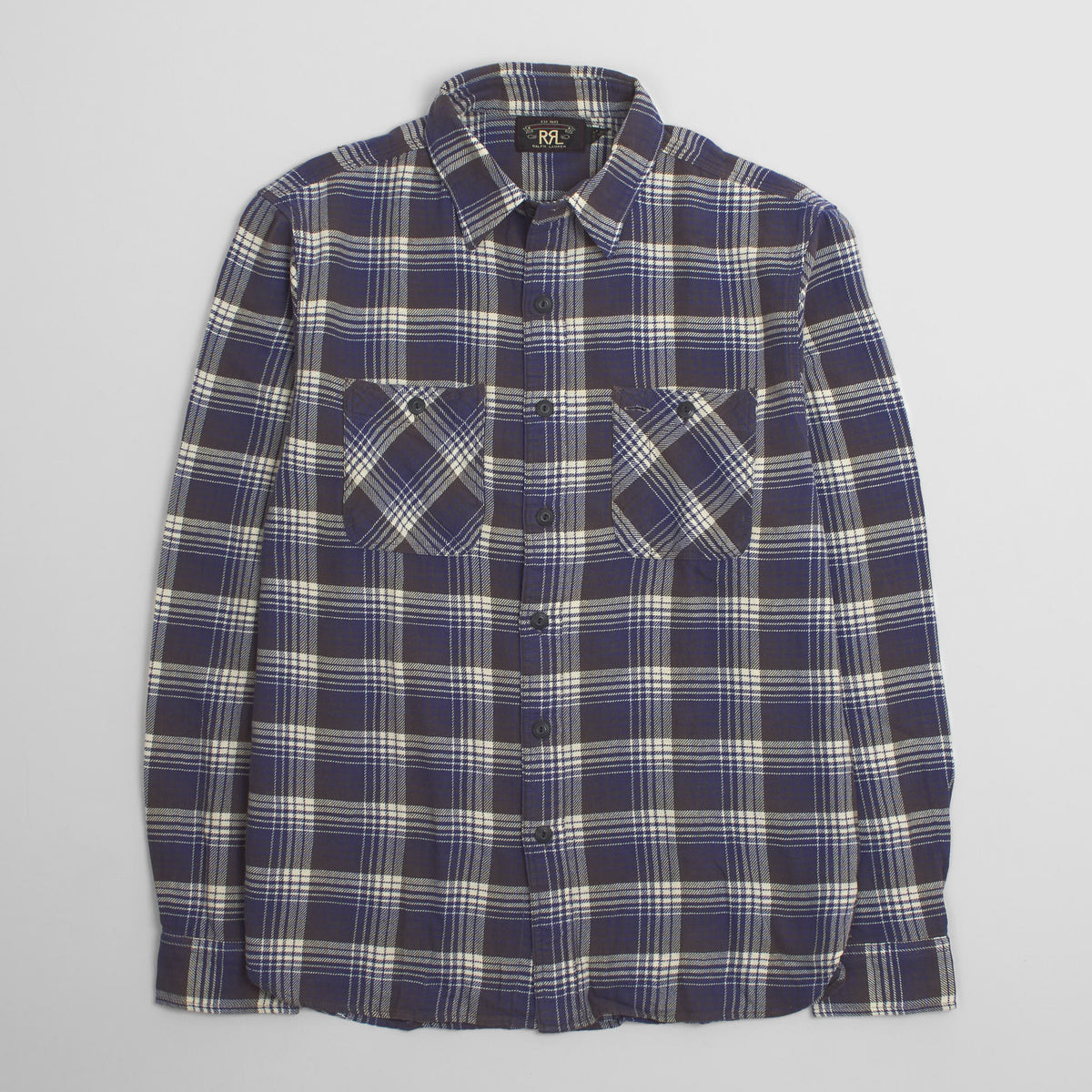 Double RL Plaid Work Shirt