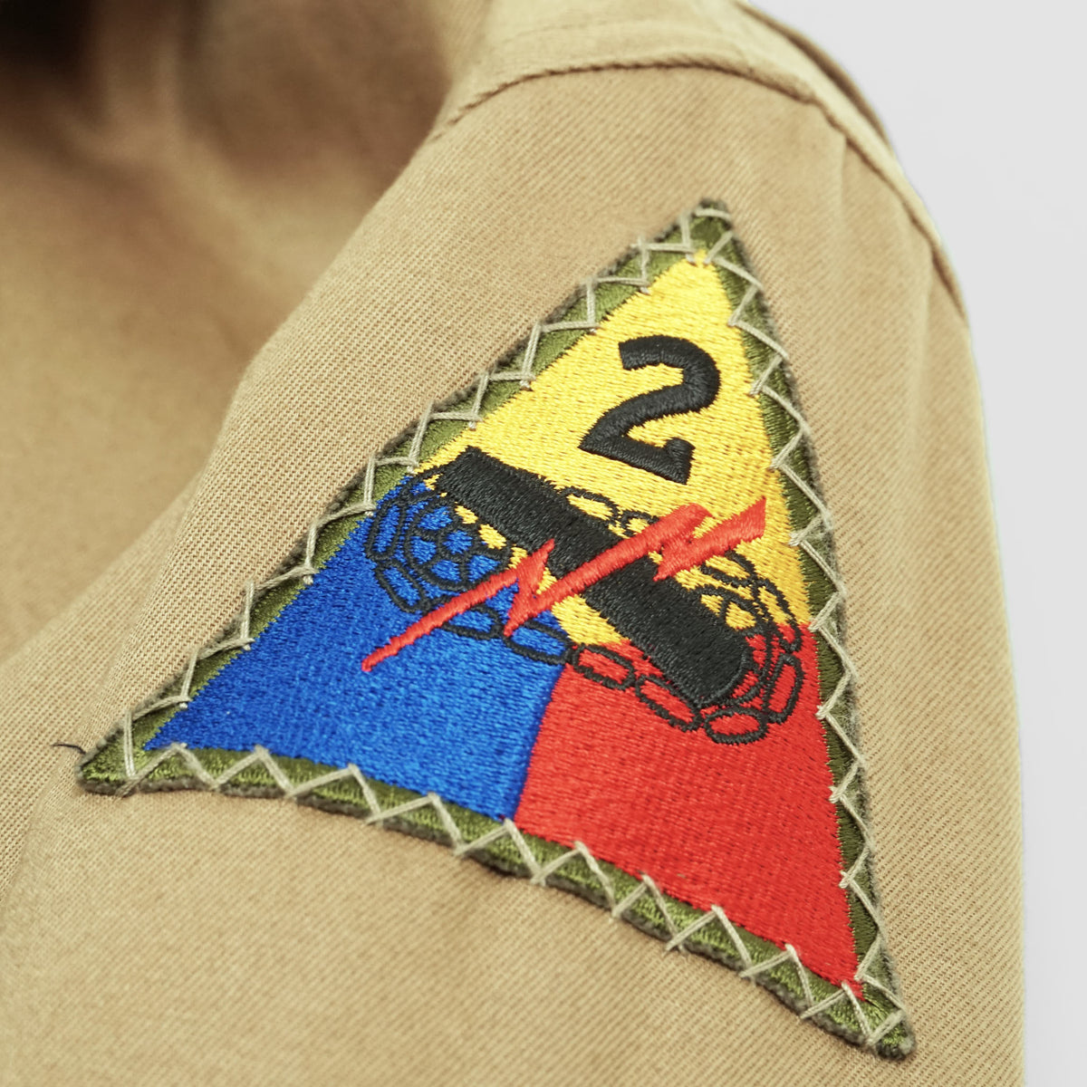 Buzz Rickson's 2nd Armored Wardaddy 1st Pattern Tanker Jacket