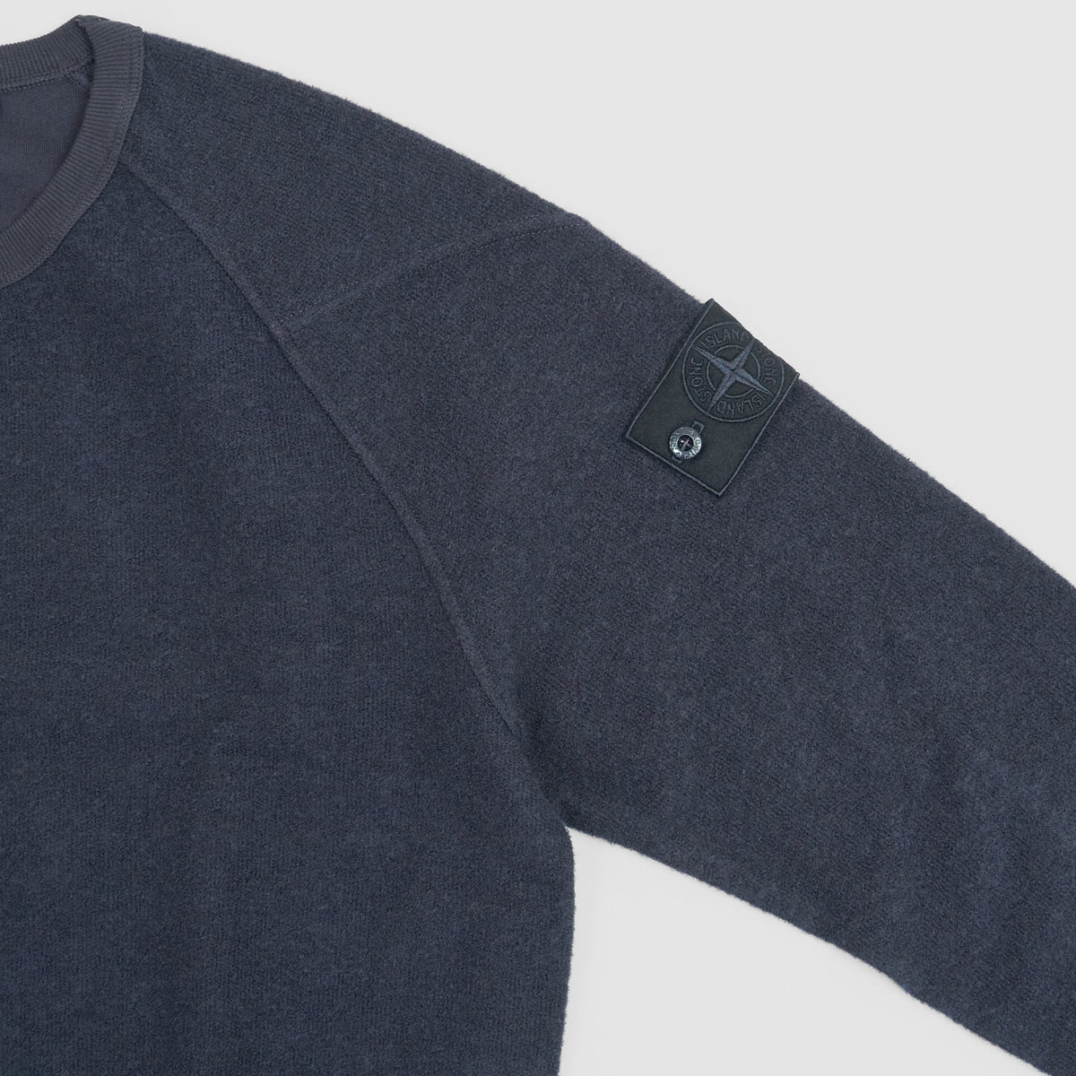 Stone Island Ghost Piece Crew-Neck Wool / Cotton Pullover